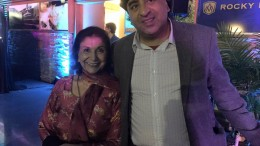Relections-writer-director R. Paul Dhillon with actor Balinder Johal