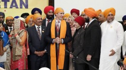 Vaisakhi on the Hill-Trudeau
