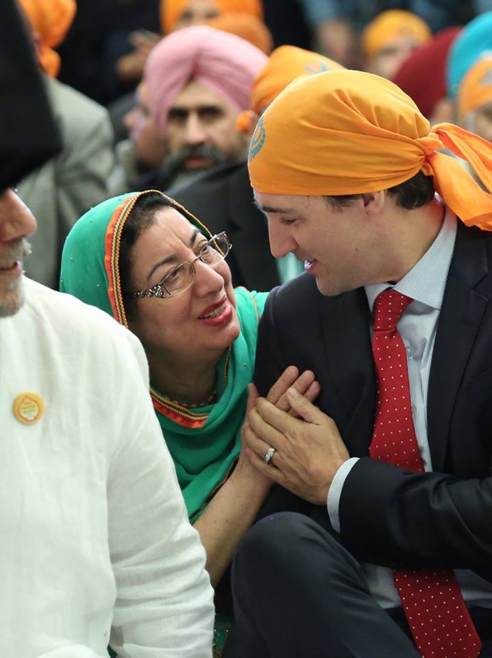 Vaisakhi on the Hill-Trudeau3