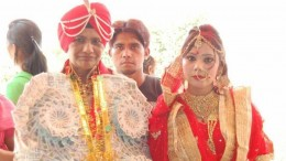 Woman Cop Marries