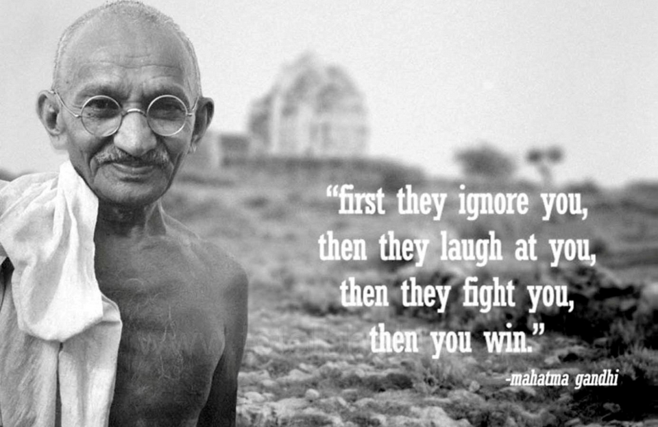Thoughts-Gandhi