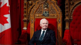 EDS. NOTE A DEC.12, 2013 FILE PHOTO Governor General David Johnston oversees a ceremony giving royal assent to government legislation in the Senate on Parliament Hill in Ottawa on Thursday, December 12, 2013. Johnston is sending a special holiday message to the families of military personnel coping with a recent series of suicides.THE CANADIAN PRESS/ Patrick Doyle
