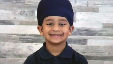 Sikh-Boy-hit-by-school-bus