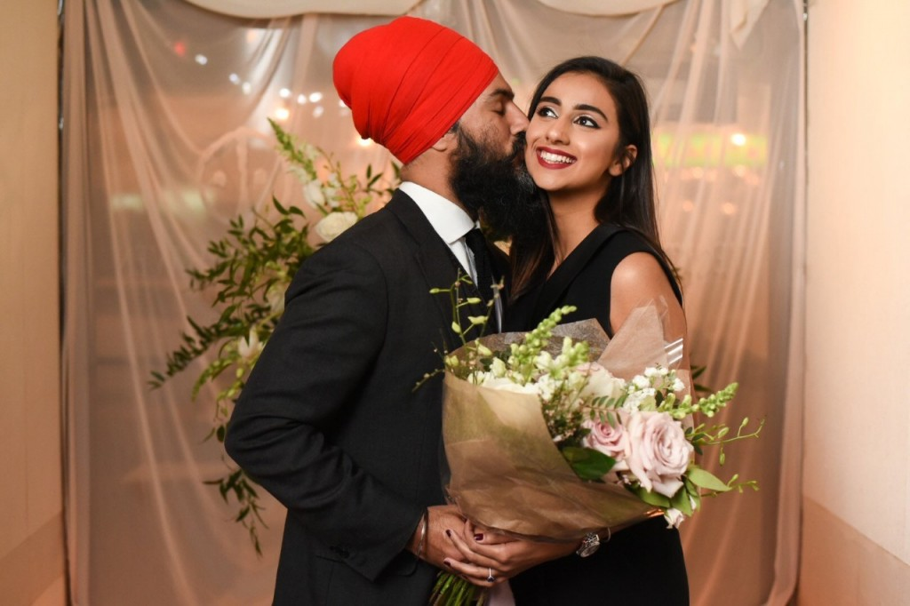 NDP-leader-Singh-fiance