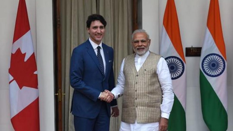 India-Canada-Curtail Freedom Of Expression